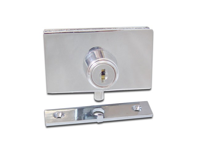 Cabinet Swinging Glass Door Plunger Lock 410 6